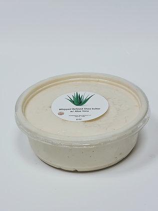Whipped Refined Shea Butter w/ Aloe Vera
