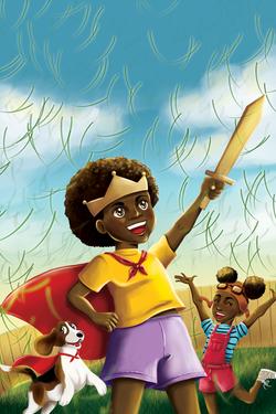 """Ilustração para o livro """"O mágico mundo de Jeremy Stumpler"""" - Amanda Aquino"""