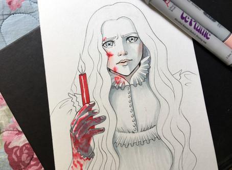 Crimson Peak! - Doodle Impressions