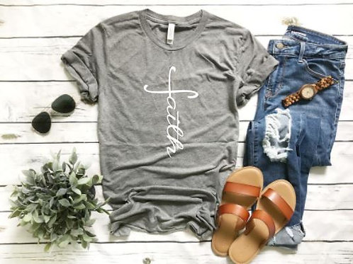 Faith Tee - Grey