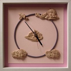 ふんわり時計
