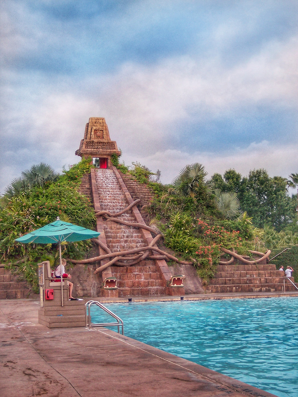 Lost City of Cibola Pool featuring Mayan Pyramid at Disney's Coronado Springs Resort