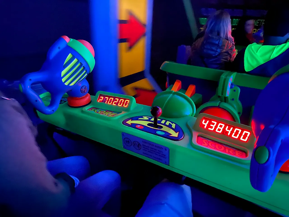 Buzz Lightyear's Space Ranger Spin at Magic Kingdom