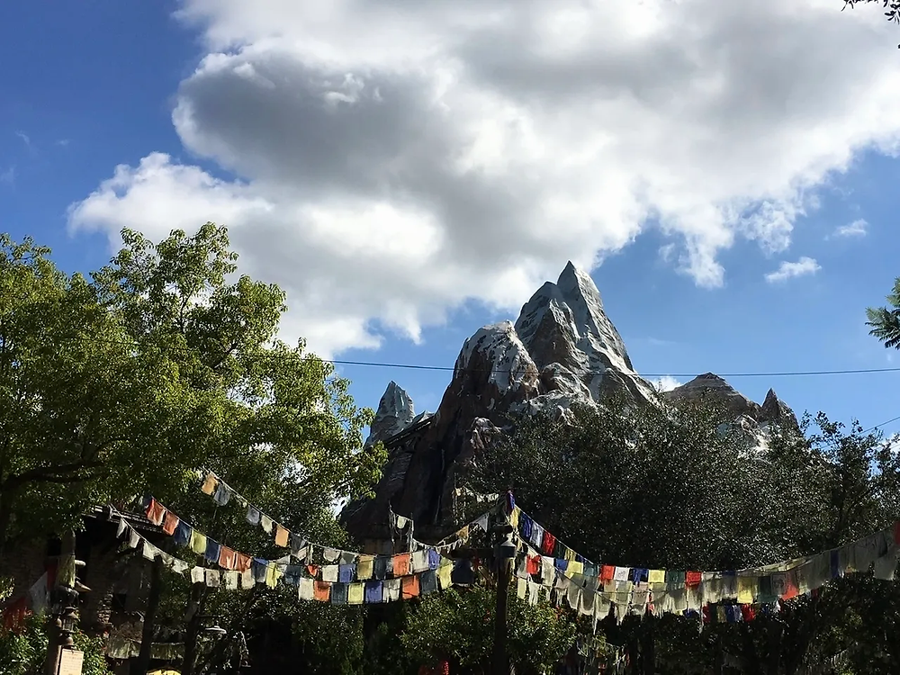 Mount Everest at Disney's Animal Kingdom, home to Expedition Everest