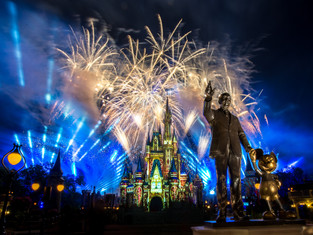 """Happily Ever After"" - Magic Kingdom Fireworks"