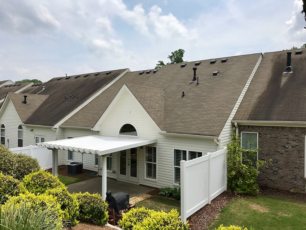 Roof cleaning in and around North Georgia
