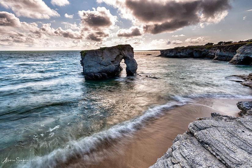 La roche percée de Préfailles