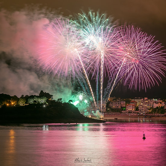 Feu d'artifice de Dinard