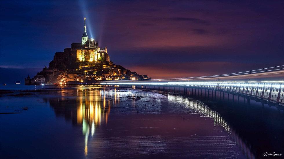 [16:9] Le Mont Saint-Michel & son reflet