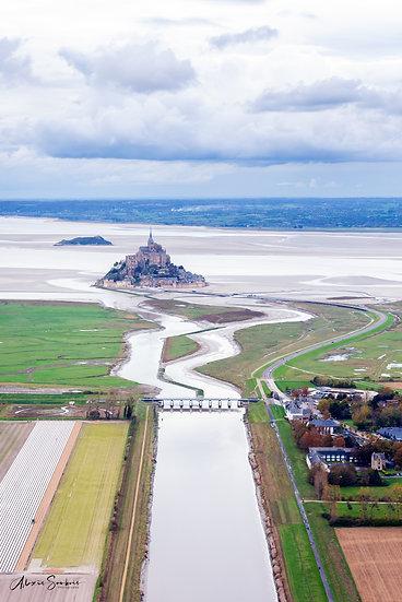 Le Mont Saint-Michel  et le Couesnon (ULM)