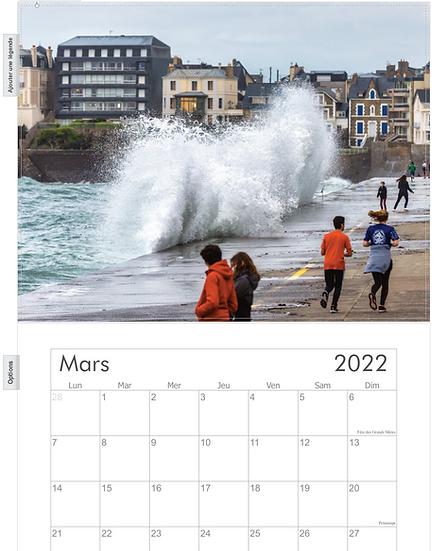 Précommandes calendrier 2022