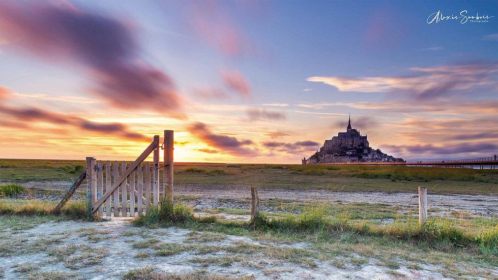 La porte de la Baie du Mont Saint-Michel [16:9]