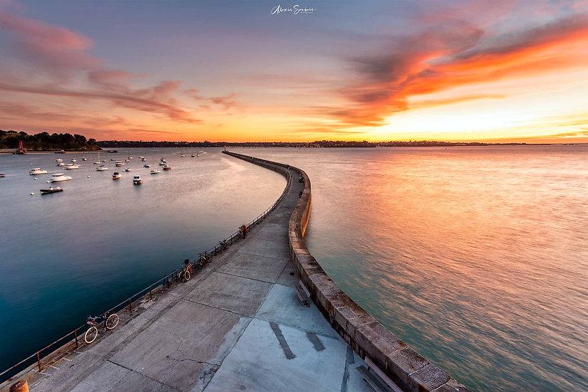 Dernier sunset de l'été sur le Môle