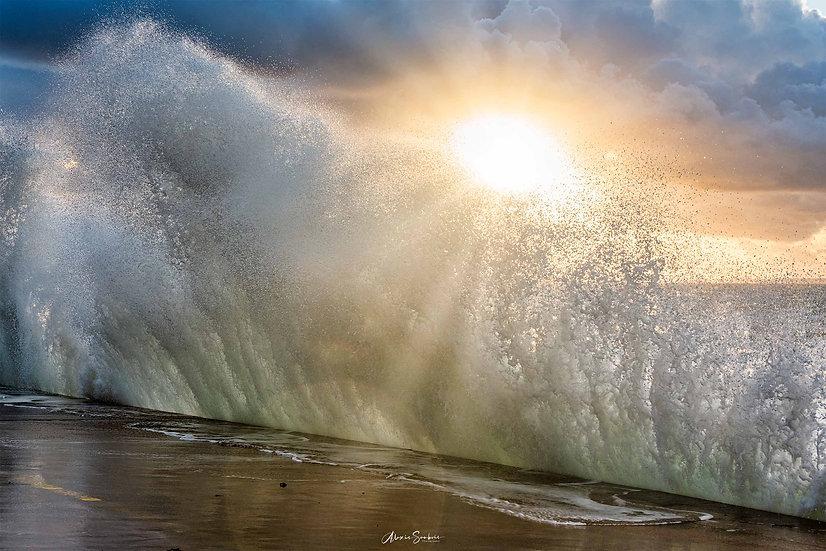 Presque dans la vague !
