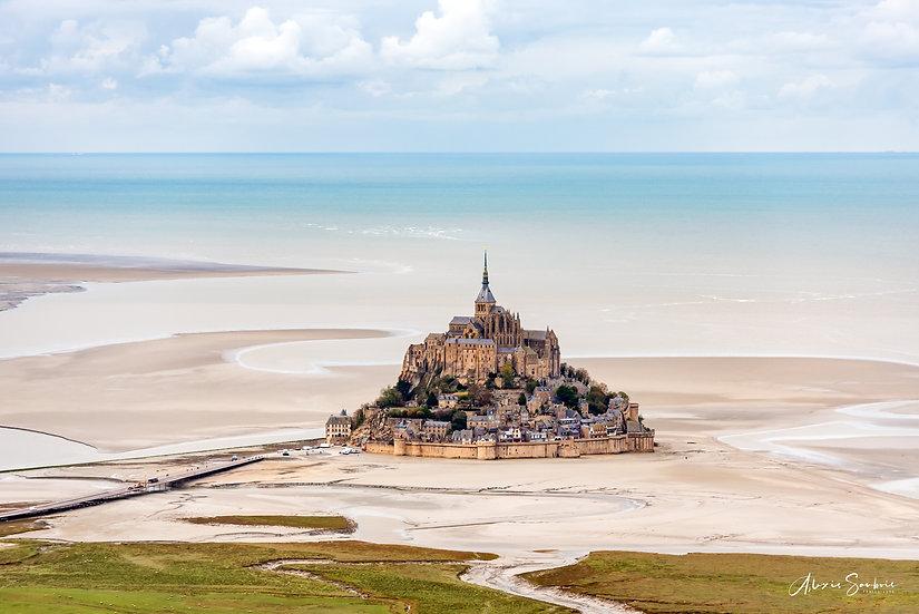 Le Mont Saint-Michel (ULM)