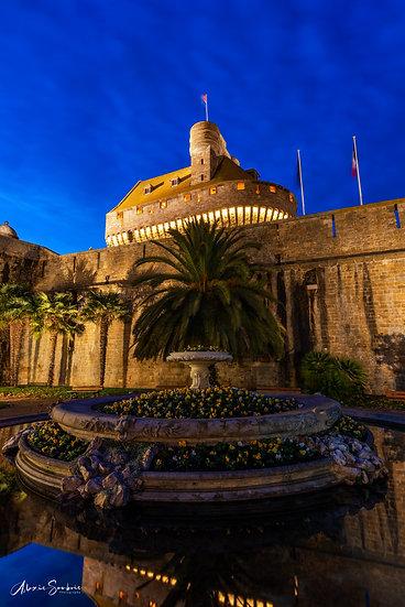 Le chateau de la ville de Saint-Malo