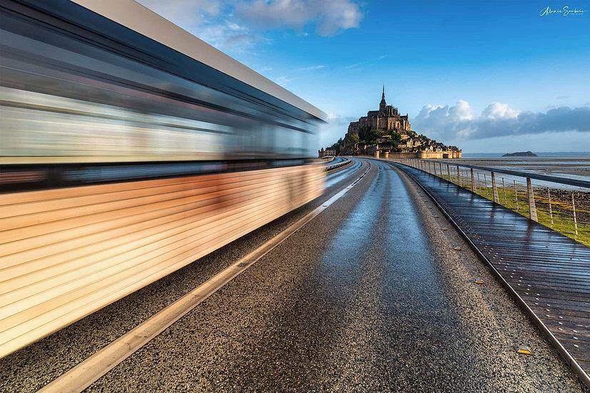 Aurevoir Mont Saint-Michel