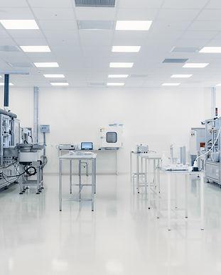 Scientists Working in Laboratory. Facili