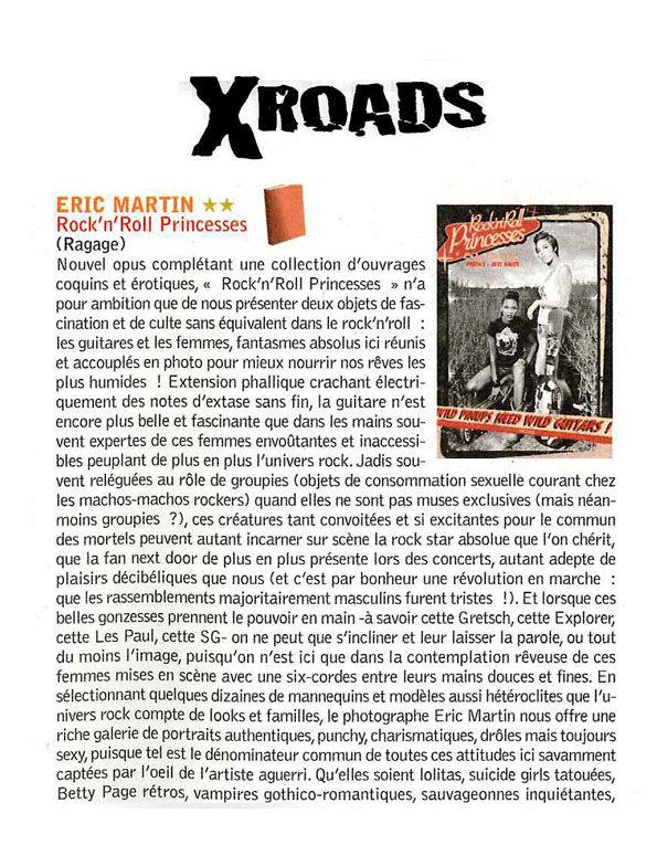 chronique Xroads octobre 2010