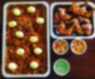 Buriyani catering tray