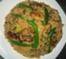 Sri Lankan Restaurant fried rice with chicken