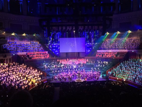 KAA choir at BAFTA awards ceremony