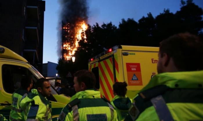 Support team in response at the Grenfell fire