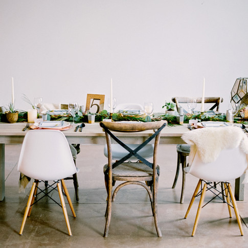 Industrial Greenhouse Inspired Wedding