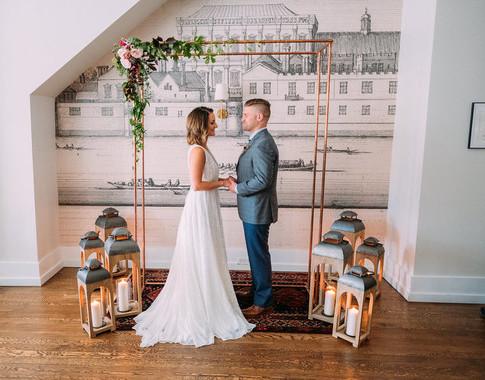 Intimate Wedding Restaurant Inspiration
