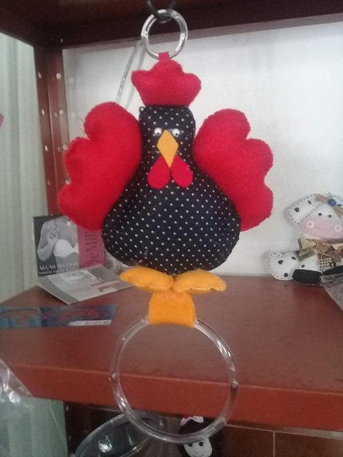 Porta toalha de prato - galinha