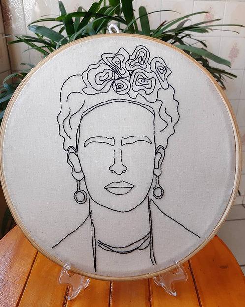 Quadro bastidor - Frida