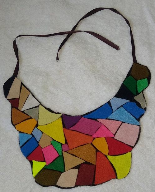 Maxi colar mosaico