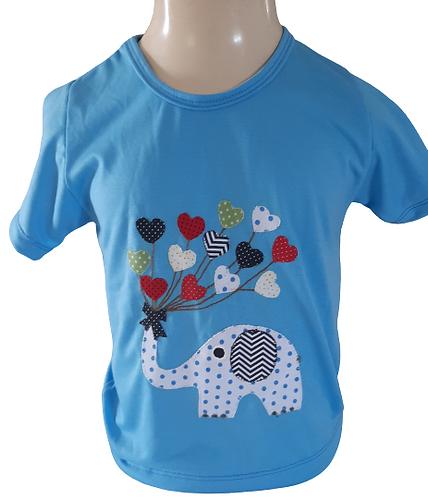 Camisetas infantins