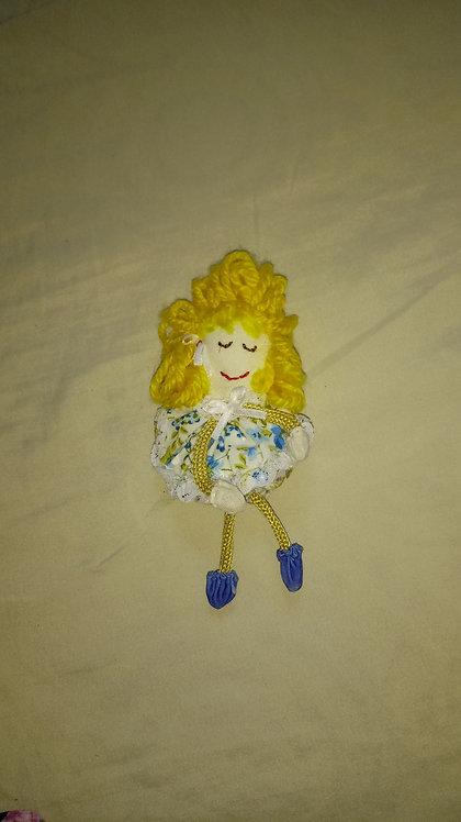 Chaveiro - boneca