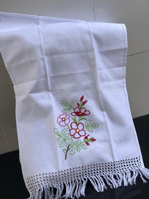 Toalha decorativa (flores)