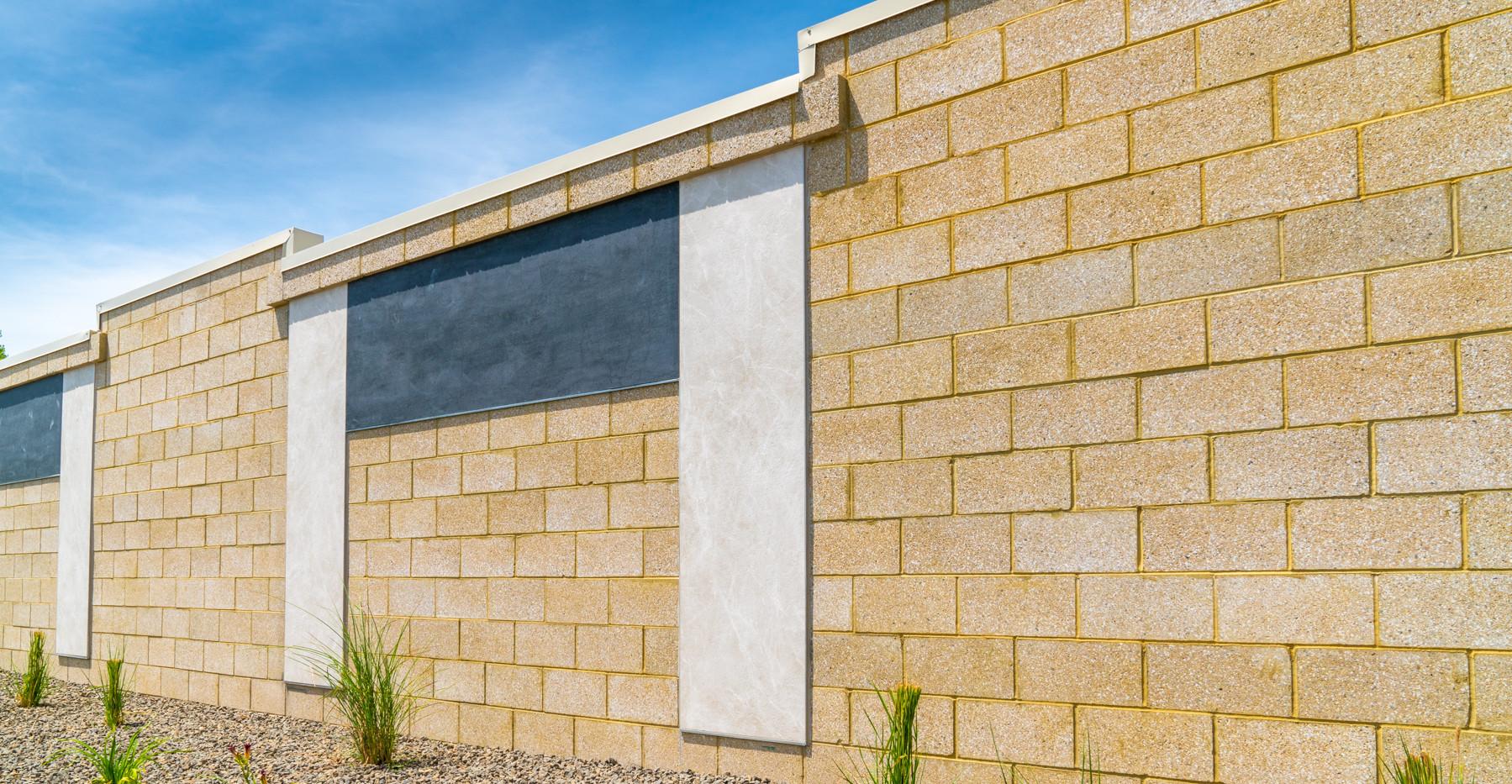 Block Wall Detail