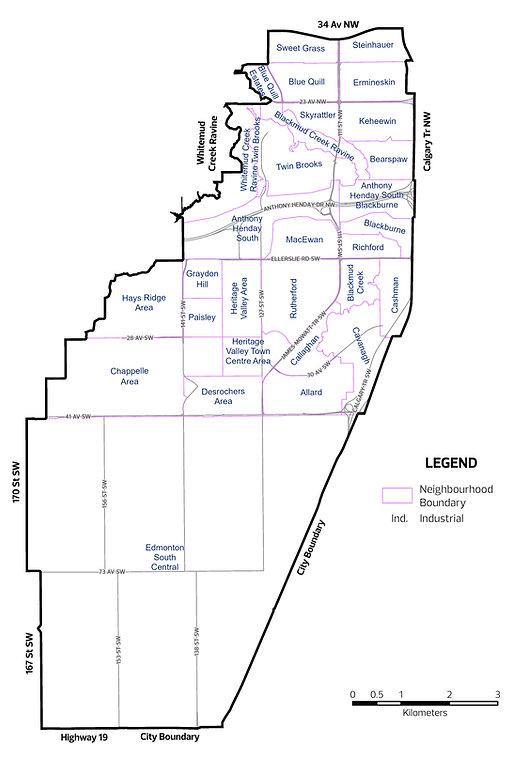 Edmonton Ipiihkoohkanipiaohtsi Ward Map