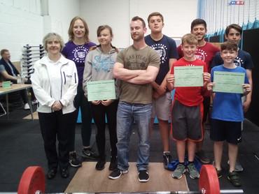 18th May - Youth Competition @ Pegasus Weightlifting Club