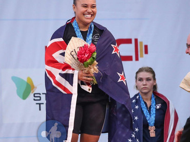 Kanah Andrews-Nahu, New Zealand's Record Holding Weightlifter