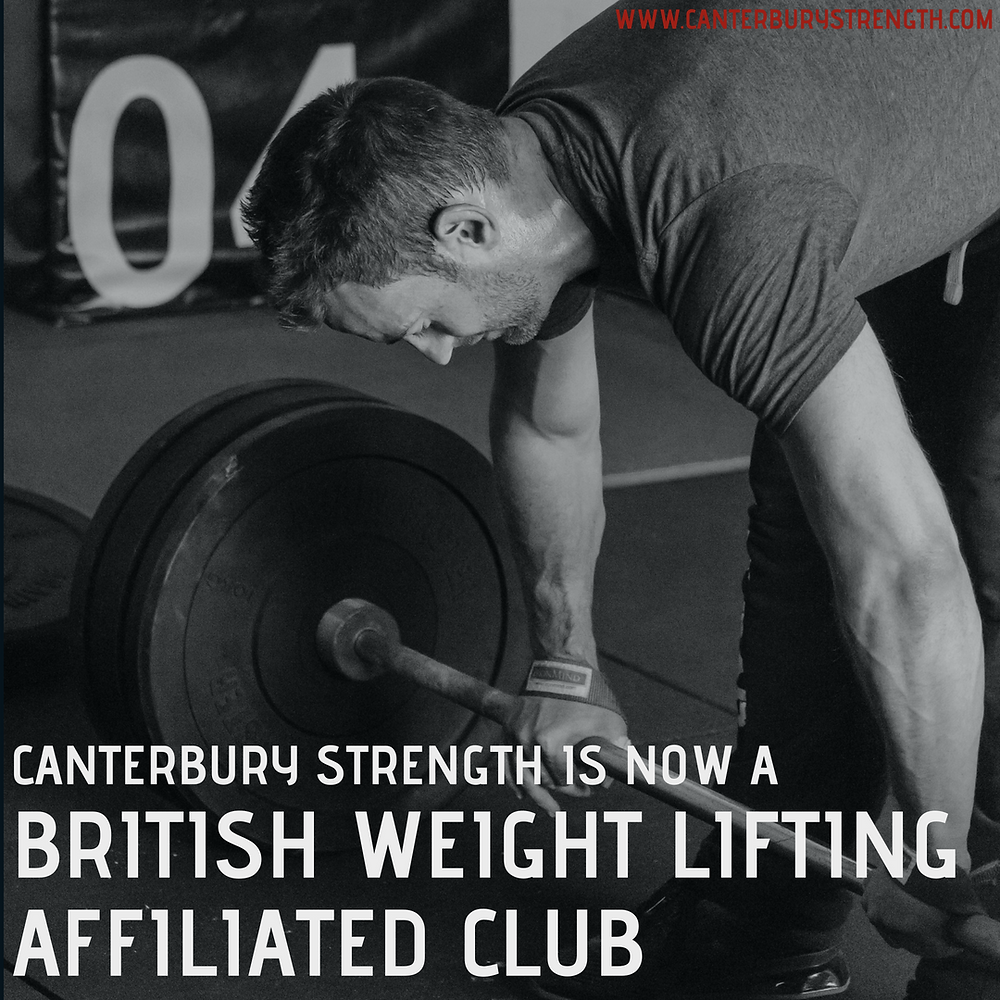 Canterbury Strength Weight Lifting Club British Weight Lifting affiliated club