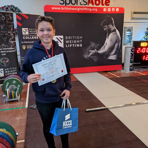 Alex's Report on his First Official Competition!