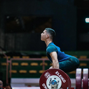 Sergio Massidda: 55kg Youth & Junior World Champ