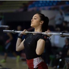 Italy's Giulia Miserendino - European Youth Champion