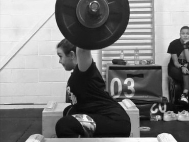 Exercise Library: Snatch from Blocks