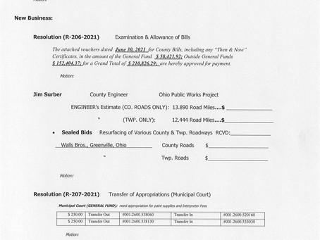 Session Agenda - Wednesday, June 30, 2021