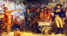 Treaty of Greenville Painting