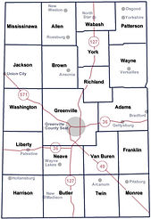 Darke County Townships
