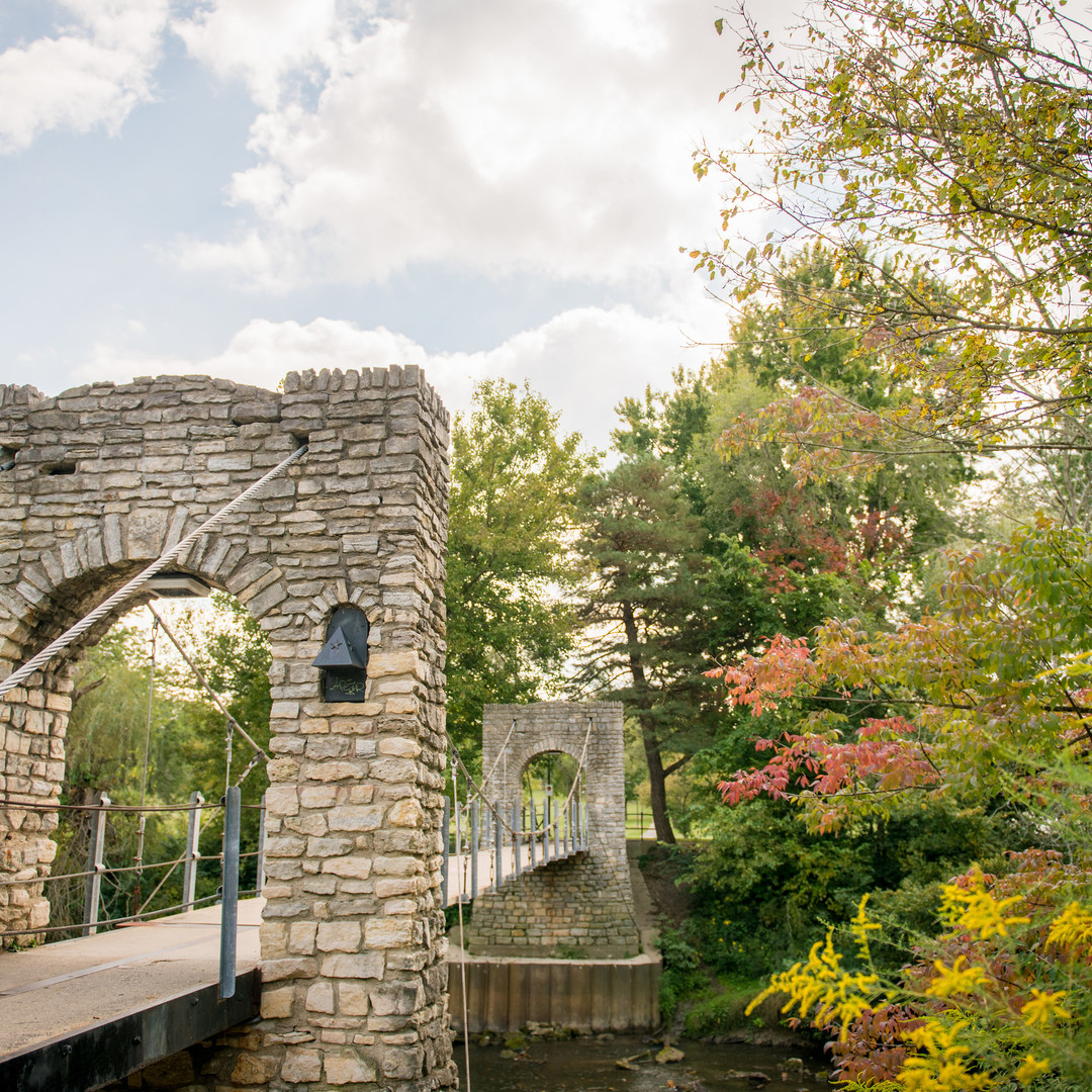 Swinging Bridge - Greenville