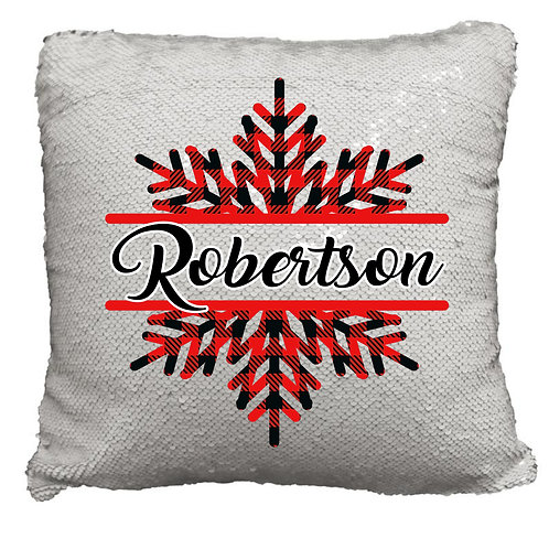 Flip Sequin Christmas Pillows