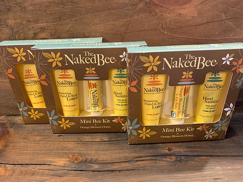 Naked Bee Hand Sanitizer Kits